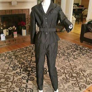 Carlisle ladies 2pc pant suit in black